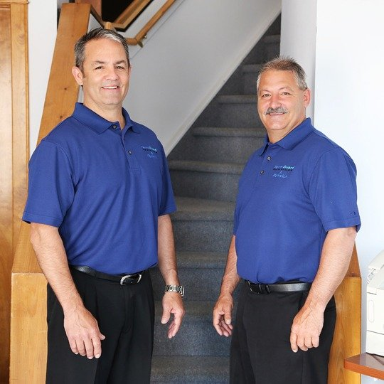 Jim and Mike Allen, owners of Termiguard Pest Control