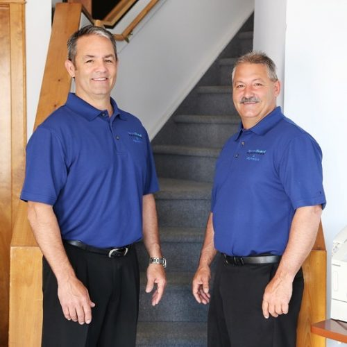 Jim and Mike Allen, owners of Termiguard Fenwick & Roofing