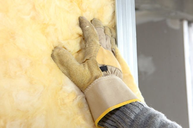Insulation in crawl space